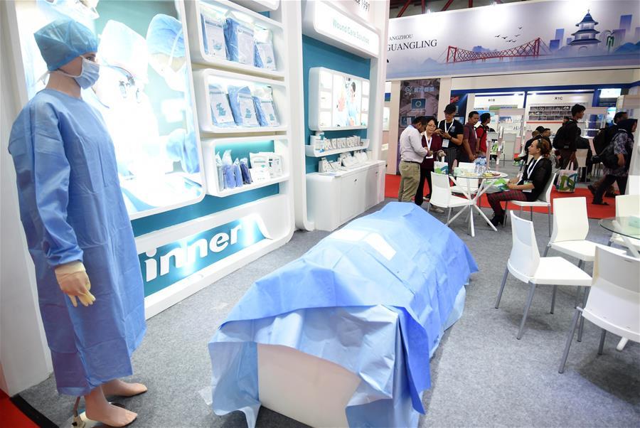 第二屆中國醫療健康(印尼)品牌展促兩國行業交流