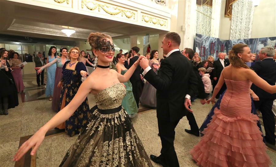 白俄羅斯舉辦舞會迎接舊歷新年