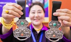 內蒙古舉辦非遺年貨展