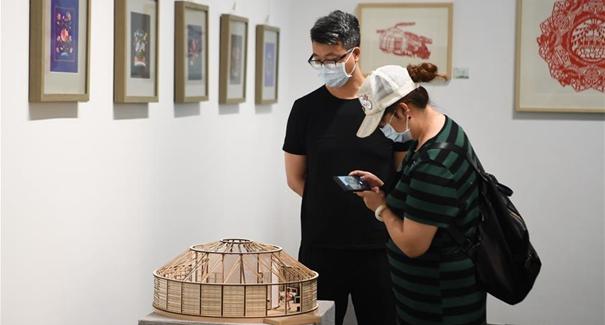 內蒙古舉辦民族手工藝和文創旅遊精品展