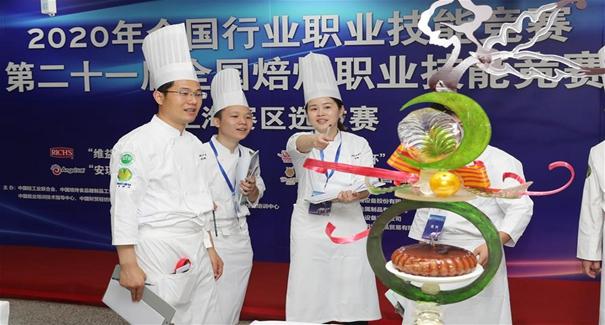 上海:焙烤賽場展技藝