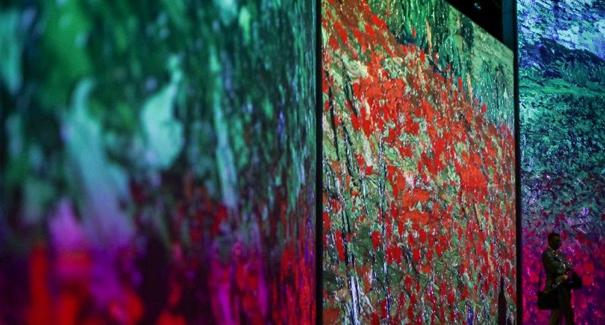 梵高沉浸式畫展即將在悉尼開幕