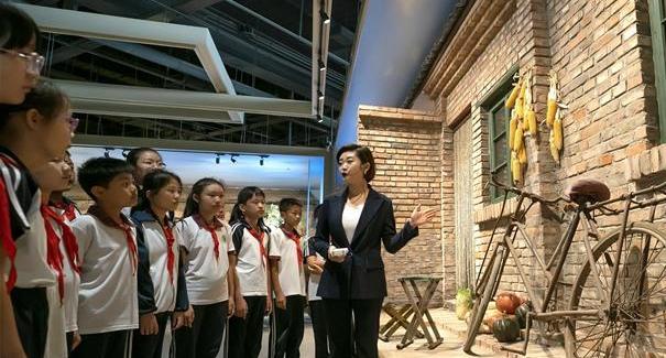 河北唐山:農墾博物館裏學知識