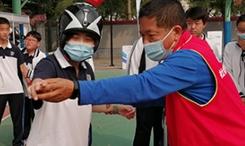 北京冬奧會倒計時500天--豐臺區冰雪大篷車開進校園