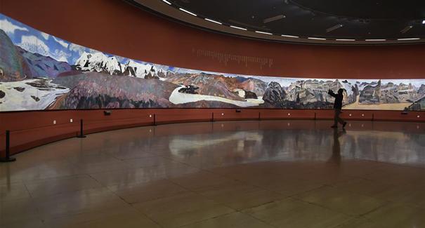 黃河魂 赤子心——王克舉百米油畫長卷展在京開幕