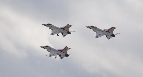 美國得克薩斯州沃思堡舉辦航空飛行展