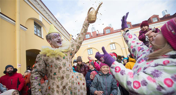 聖彼得堡舉辦獨立劇院巡遊節