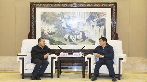 庫熱西會見重慶副市長陳和平