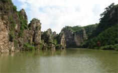 中國地理新發現——龍潭大峽谷