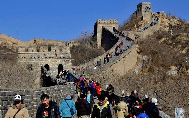 北京市助力冬奧 2022名市民八達嶺登高迎新