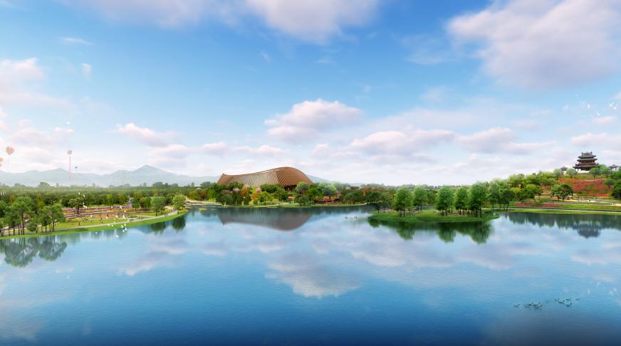 2019年北京世園會進入全面建設階段