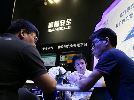 國際互聯網科技博覽會暨世界網絡安全大會在京舉行