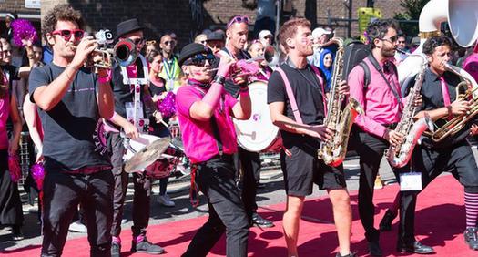 諾丁山狂歡節在倫敦開幕