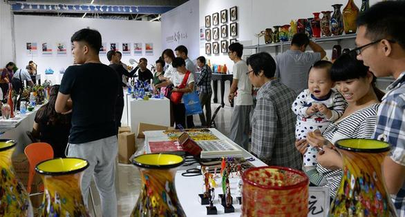 第十七屆中國(淄博)國際陶瓷博覽會開幕