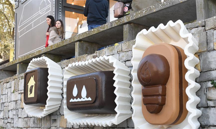 走近奧比杜什國際巧克力節