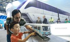 北京國際城市軌道交通展覽會開幕