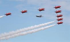 英國舉行法恩伯勒航空展