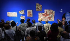 流失海外的新疆克孜爾石窟壁畫及洞窟復原影像展在京舉辦