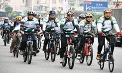 多地舉辦騎行節倡導綠色出行