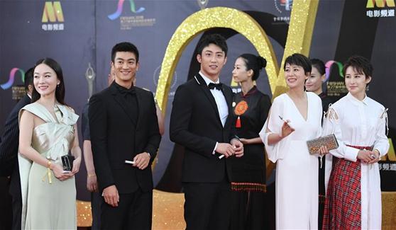 第27屆金雞百花電影節舉行紅毯秀