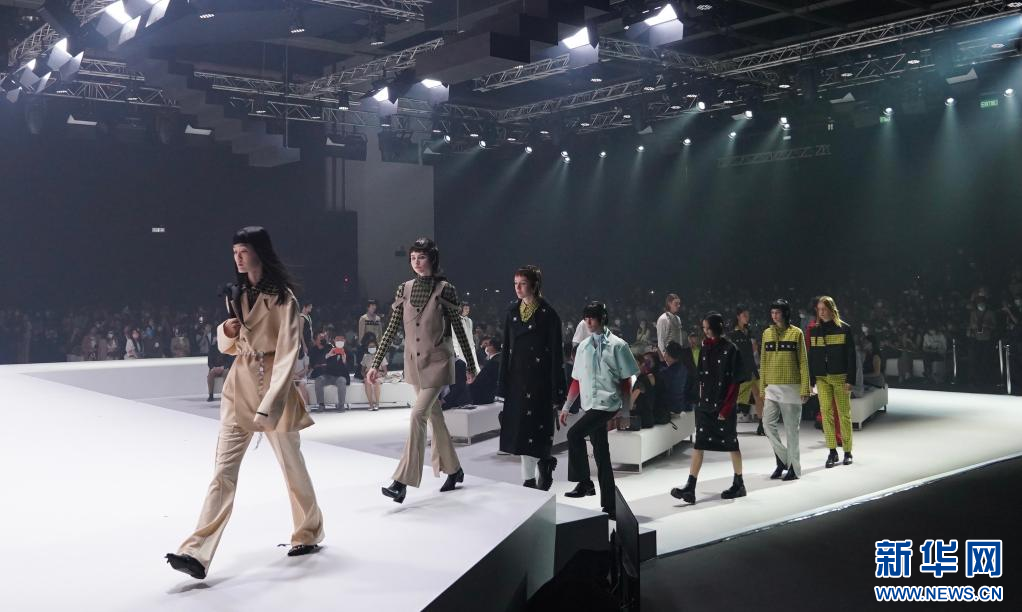 香港举行国际时尚汇展 为期三天