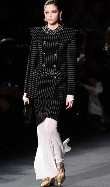 Chanel 2018/19巴黎-紐約高級手工坊係列發布會秀場