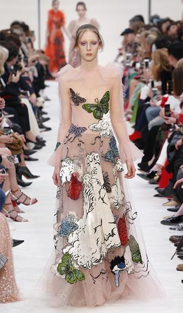 巴黎時裝周——華倫天奴品牌時裝秀
