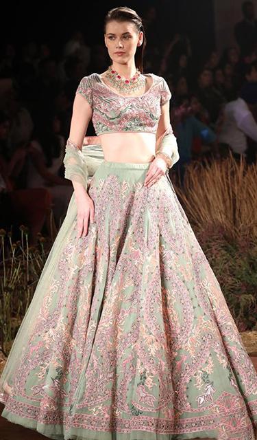 2019印度時裝周——設計師萊努·坦東時裝秀