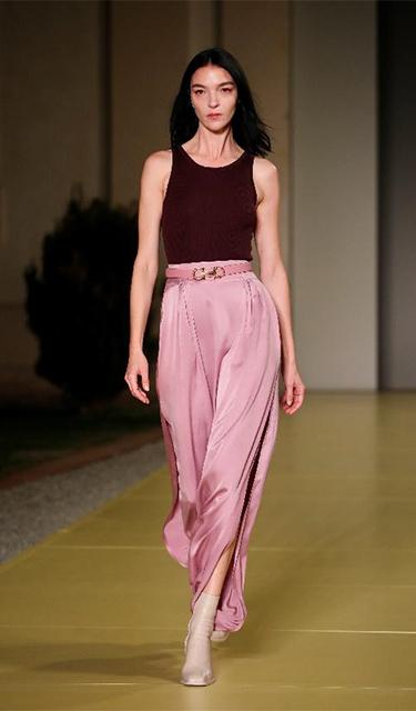 米蘭時裝周——菲拉格慕品牌時裝秀