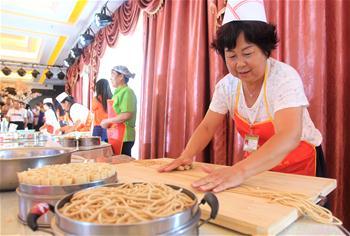 內蒙古武川縣舉辦莜面美食技能賽