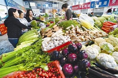 山東蔬菜批發價格略有上漲