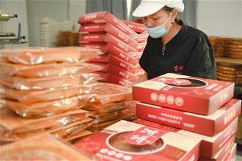 【圖集】化解疫情影響 傳統糕點迎來中秋産銷旺季
