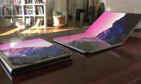 """折叠屏手机""""爆发"""" 巨头入场竞逐先发优势"""