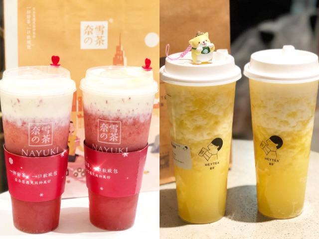 """全国门店数达41万家 现制茶饮为何成""""网红"""""""