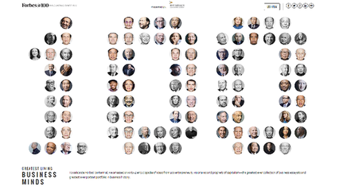 福布斯評出百位全球最偉大商業思想家 你認識幾個?