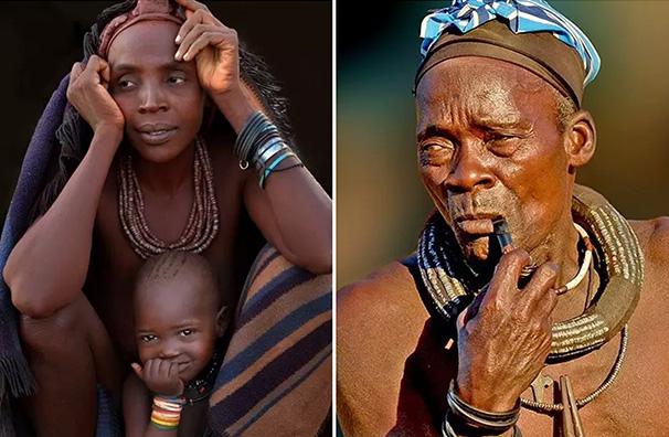 攝影師親歷非洲:鏡頭定格納米比亞紅泥人