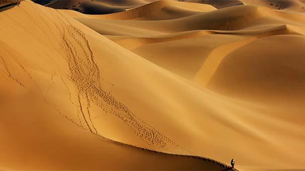 震撼視覺衝擊:跟隨攝影師走進烏蘭布和沙漠
