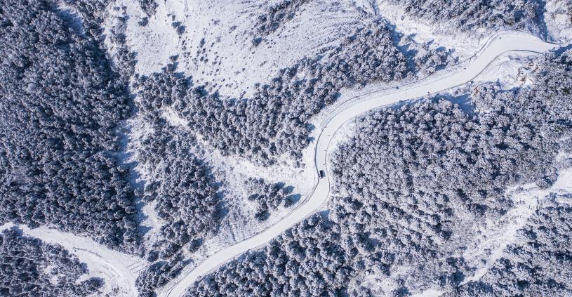 攝影鏡頭定格國內不一樣的冬天