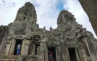 如此壯觀神奇!攝影師帶你去溫暖的柬埔寨吳哥窟曬太陽