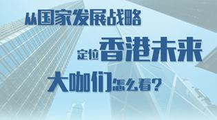 從國家發展戰略定位香港未來 大咖們怎麼看