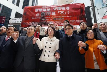 """專家談旺角暴亂   香港社會對暴力説""""不"""""""