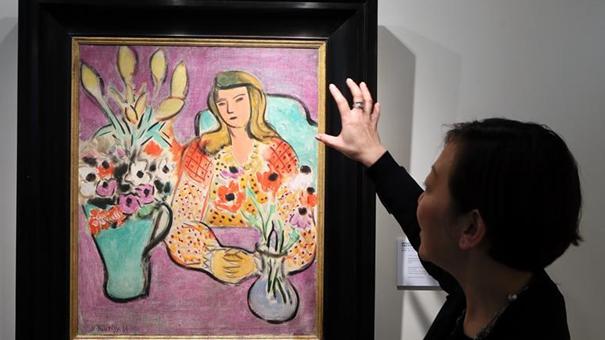 佳士得在港舉行印象派及現代藝術與戰後及當代藝術精品展