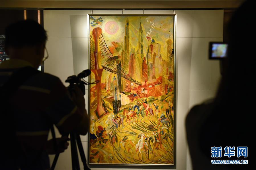 香港蘇富比展出本季秋拍估值最高的現代油畫