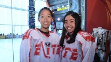 香港冰球姊妹:愛運動的速度與激情