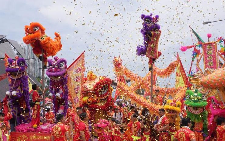 尊重和諧共生 香港展現文化魅力