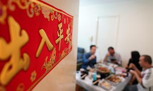 香港警察的溫馨聚餐