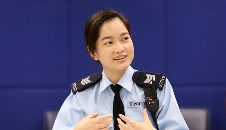 一位香港女警最想收到的婦女節禮物
