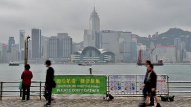 """香港旅遊業迎別樣""""五一"""" 處境艱難"""