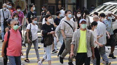 新冠肺炎疫情反復 香港嚴陣以待