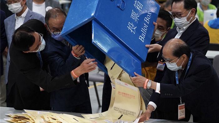 香港政制發展史的嶄新時刻!